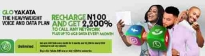 GLO Yakata: How To Get Up To Free 6GB On Your Glo Sim